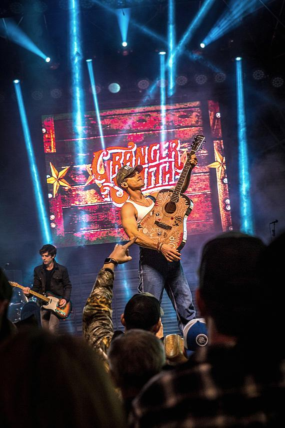 Country Music Superstars Perform During Downtown Hoedown at Fremont Street Experience