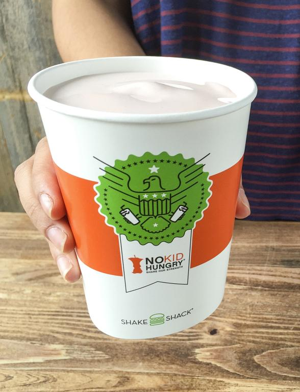 Great American Shake Sale to Support 'No Kid Hungry' Kicks Off Sunday at Shake Shack