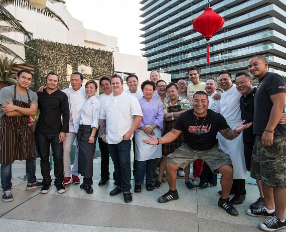 Chefs of LUCKYRICE Vegas Night Market