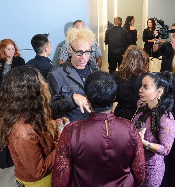 Comedy Magician Murray SawChuck with Guests at Beverly Hills Rejuvenation Center Opening in Las Vegas