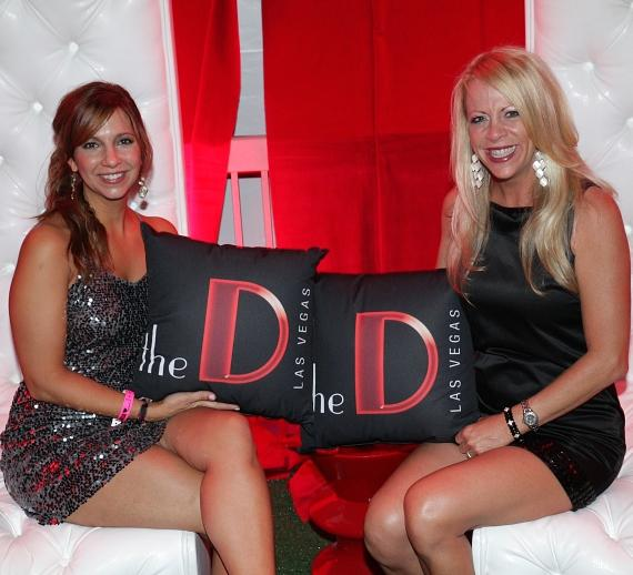 Guests enjoy the D's VIP cabana at Life Is Beautiful Festival