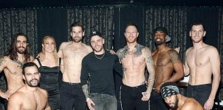 "U.S. Olympic Skier Gus Kenworthy Spotted at ""Magic Mike Live"" at Hard Rock Hotel & Casino in Las Vegas"