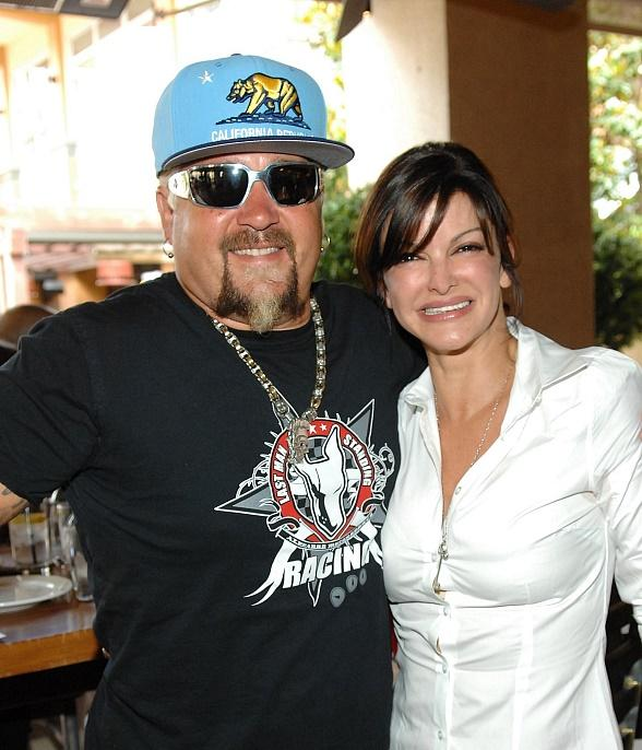 Guy Fieri Poses with Chef Carla Pellegrino
