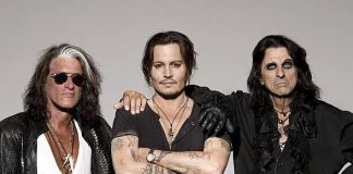 The Hollywood Vampires Featuring Alice Cooper, Joe Perry, and Johnny Depp to Perform at The Joint at Hard Rock Hotel & Casino May 10