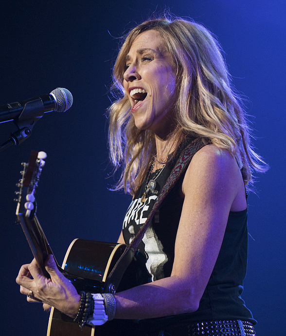 Sheryl Crow Takes the Stage at CES 2018 Private Concert Hosted by HARMAN at Hard Rock Hotel Las Vegas