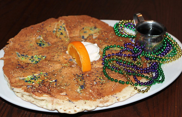 Hash House A Go Go Lets The Good Times – And The Batter – Roll with a Mardi Gras-Themed Flapjack for National Pancake Week Feb. 27–March 5