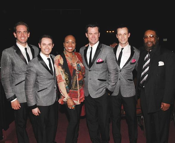Human Nature guests Grammy award-winner Dee Dee Bridgewater and Motown great Eddie Holland