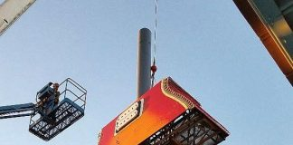 Hard Rock Cafe Guitar Sign Installation at Neon Museum to Be Completed Feb. 1
