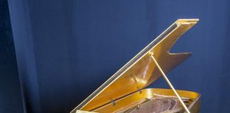 Elvis Presley's 24-karat Gold Leaf Grand Piano Joins the World's Largest Music Memorabilia Collection of Hard Rock Int'l