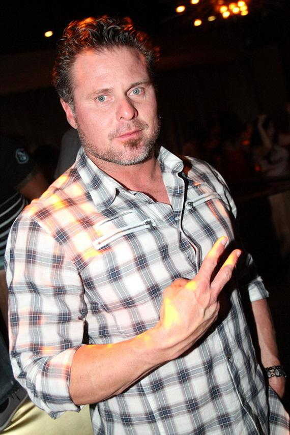 Jason Giambi at Vanity