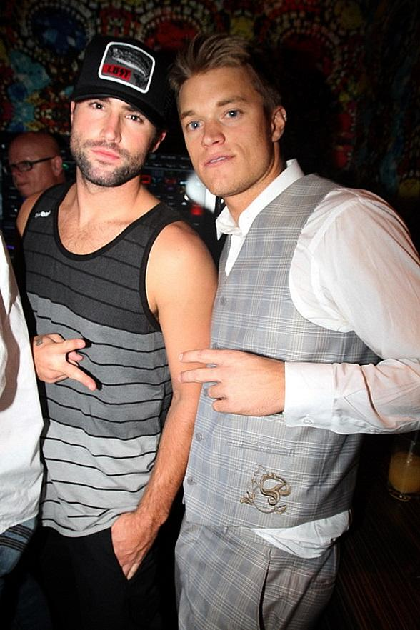 Brody Jenner with Buried Life cast member