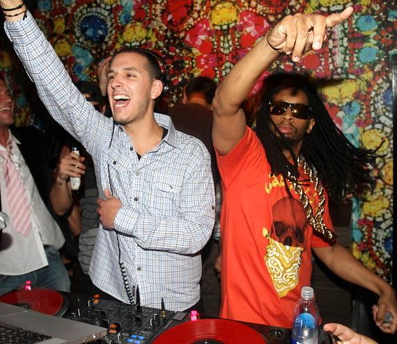 Eric D-Lux and Lil Jon at Vanity