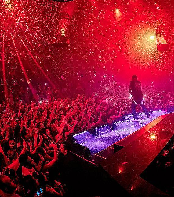 Rapper Travis Scott Puts on Special Live Performance at Hakkasan Las Vegas Nightclub