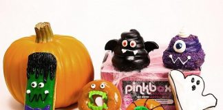 Pinkbox Doughnuts Announces 'Spooky' Doughnuts for Halloween