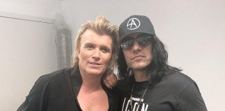 "Criss Angel Attends ""Hans Klok: The World's Fastest Magician"" at Excalibur Hotel & Casino in Las Vegas"