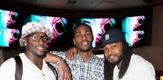Mikel Leshoure, Martez Wilson & Terry Hawthorne at HERAEA