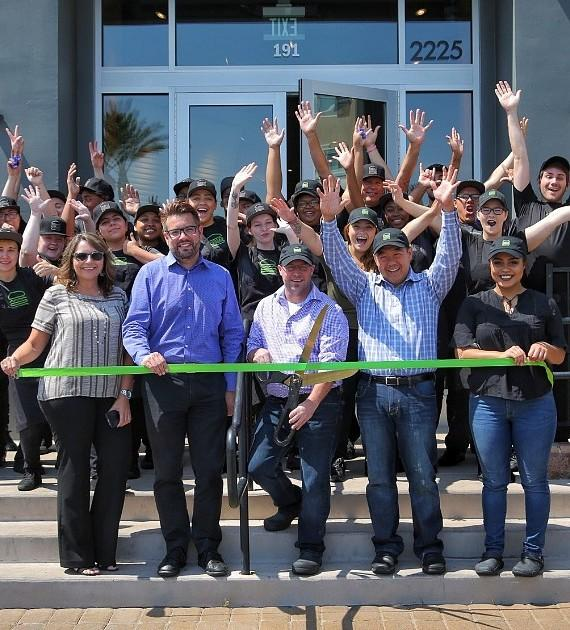 Henderson Shake Shack Opening Pre Ribbon Cutting