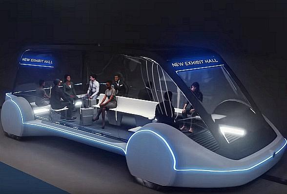 LVCVA Board of Directors Votes to Move Forward with Elon Musk's Plan to Build Underground People-Mover