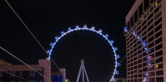 Caesars Entertainment Honors Healthcare Workers with Special Light Shows at Paris Las Vegas' Eiffel Tower and the High Roller Observation Wheel