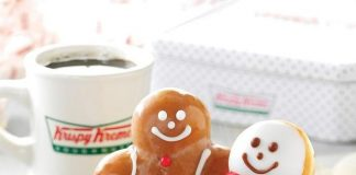 Light Up The Holidays with Krispy Kreme's Fun and Festive Treats