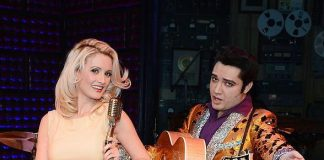 Holly Madison Captivates Audience During One-Night-Only Guest Performance in Million Dollar Quartet