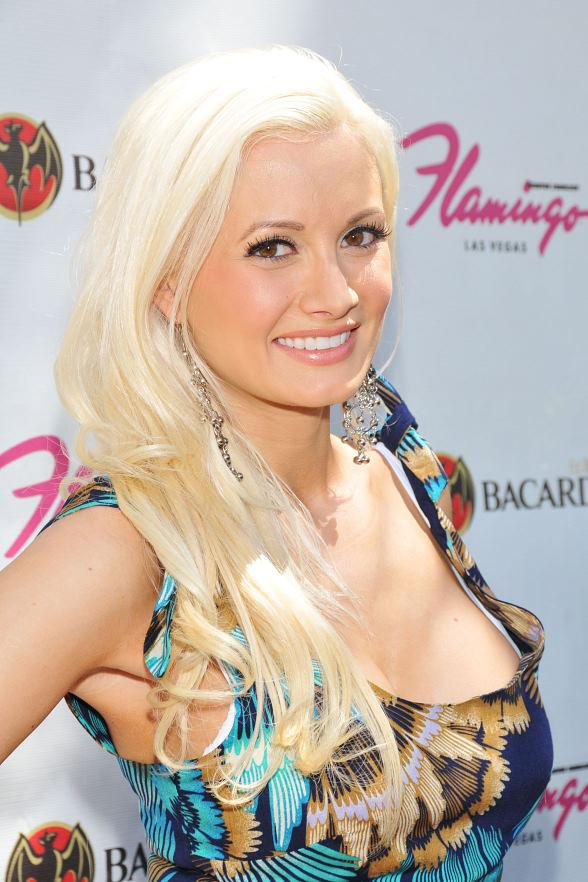 Holly Madison at the Flamingo GO Pool