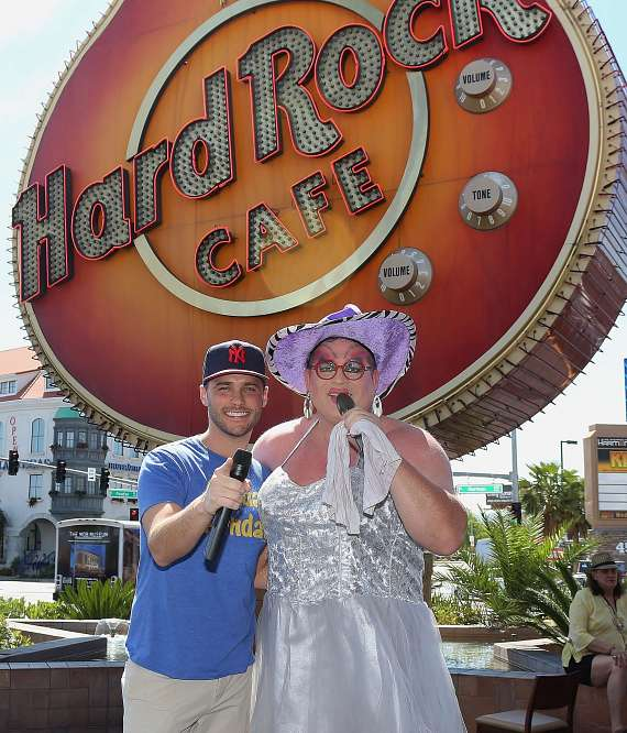 Sin City Makes History as Hard Rock Cafe Hosts The World's Largest Drag Stage Show