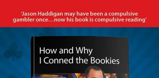"""'How and Why I Conned the Vegas Bookies"""" by Jason Haddigan"""
