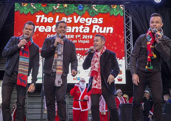 "Nearly 10,000 Individuals Joined Lance Burton: Master Magician, Mayor Carolyn Goodman, Human Nature, and Chippendales to Celebrate the 14th Annual ""Las Vegas Great Santa Run"""