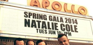 Human Nature arrives at 80th Anniversary of The Apollo Theater in New York City on June 10, 2014