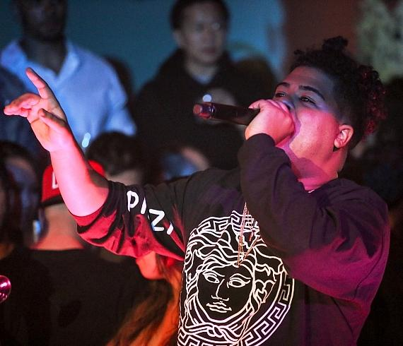 ILoveMakonnen Performs at 1 OAK Las Vegas in The Mirage Hotel & Casino
