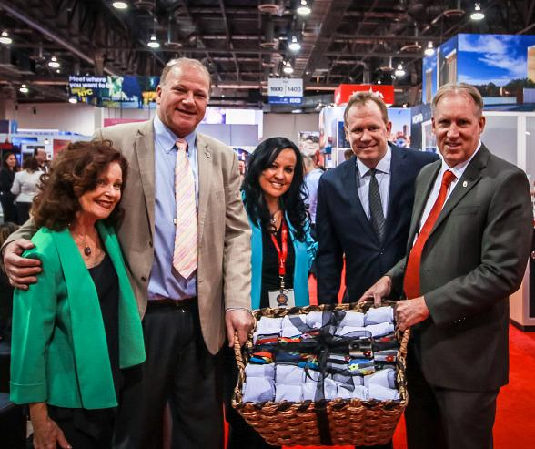Wynn Las Vegas Collects Thousands of Donations for Local Charity During IMEX 2016