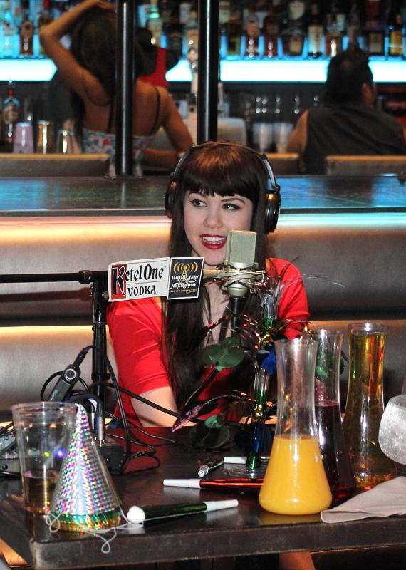 Claire Sinclair of PINUP at The Stratosphere