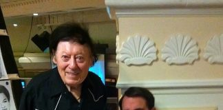 Marty Allen visits Rich Little's Vegas Show at The Laugh Factory