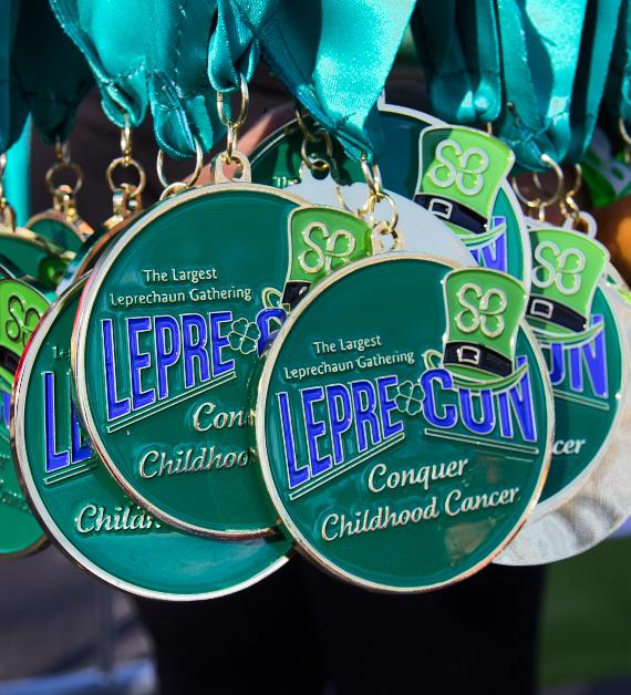1,400 People Participate in Lepre-Con to Raise Money for Childhood Cancer Research