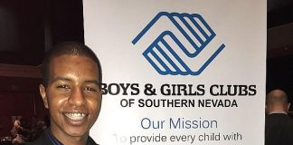 Abel Edossa Named 2015 Youth of the Year for Boys & Girls Clubs of Southern Nevada