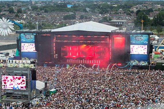 Stage at EDC London