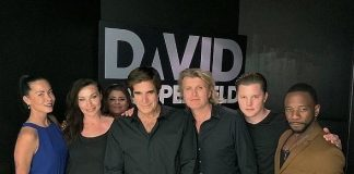 Legendary Magicians Hans Klok and David Copperfield Together Backstage at MGM Grand in Las Vegas