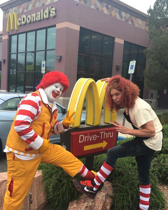 McDonald's Hosts Eggs for Education Scholarship Fundraising Event with Carrot Top, Chippendales and Nevada Pageant Winners
