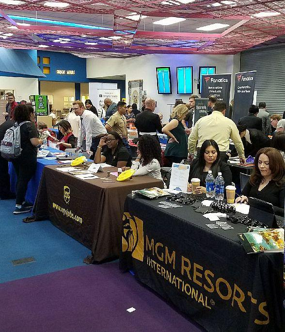 CSN Career Fairs Help Students Prosper; Students Can Showcase Job Skills to Recruiters for Some of the Region's Top Employers March 13
