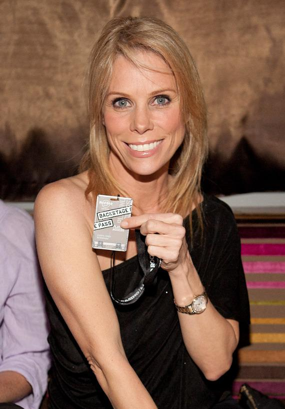 Cheryl Hines with Backstage Pass