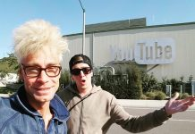 MURRAY 'Celebrity Magician' tours YouTube Space in Los Angeles