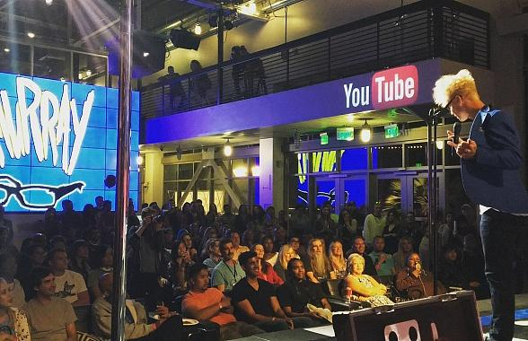 Murray 'Celebrity Magician' Sells Out YouTube Space LA Show