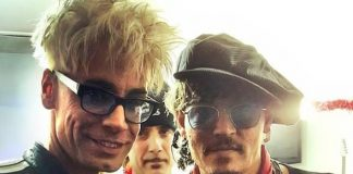 MURRAY Performs for Charity with Johnny Depp, Alice Cooper, Sammy Hagar and other Rock 'n Roll Stars