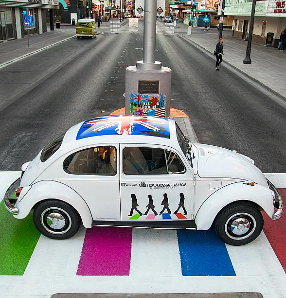 """""""Meet The Beetles"""" Car Show at Abbey Road Crossing in Downtown Las Vegas Aug. 19"""