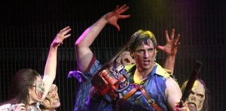 """""""Evil Dead The Musical"""" moves to Tommy Wind Theater; Expands to 5 Nightly Shows Per Week"""
