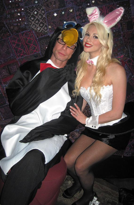 MURRAY and Chloe Dress Up for Halloween