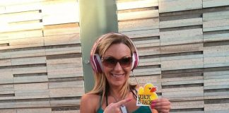 DJ Stephi K at Duck Party