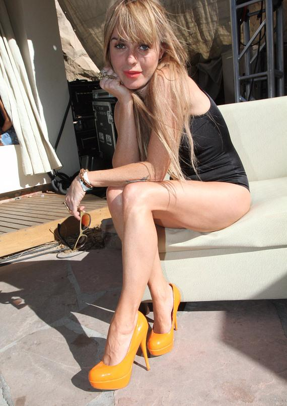 Taryn Manning at Revel pool party at Hard Rock Hotel & Casino
