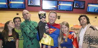 "Superheroes and Vigilantes Unite to Raise Money for Homeless Youth in Southern Nevada at the 9th Annual ""Homeless Youth in the Alley Bowling Tournament"" June 9"